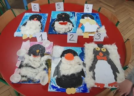 Grupowy Pingwin- przyjaciel z Antarktydy