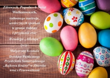 Nadchodzi Wielkanoc ...