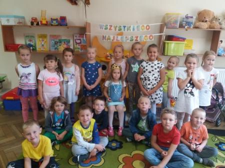 Słoneczko urodzinowe wg Marii Montessorii dla Zosi