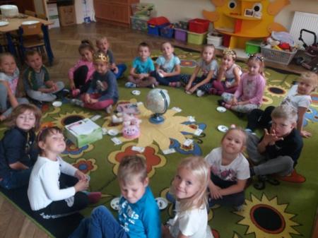 Urodzinowe słoneczko wg Marii Montessori dla Lilianki
