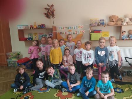 Urodzinowe słoneczko wg Marii Montessori dla  Amelki