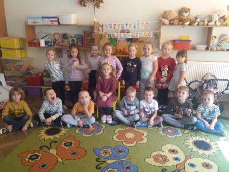 Urodzinowe słoneczko wg Marii Montessori dla Julii